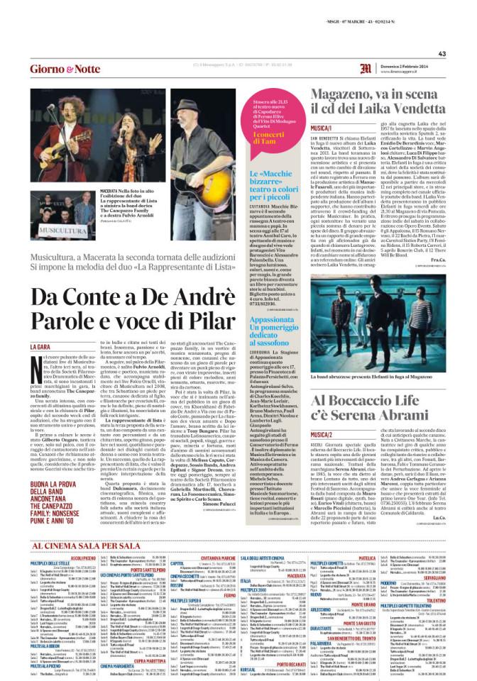 Il Messaggero | 2014