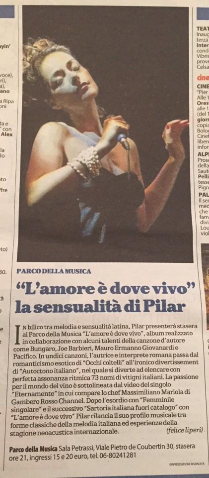 La Repubblica > Roma | 6 novembre 2015