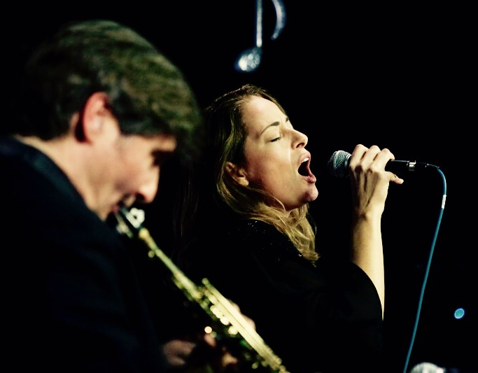 Pilar a Santa Fiora col sassofonista newyorkese Tim Ries